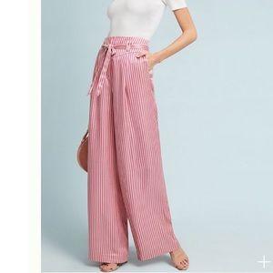 Ett:twa Ventura Wide-Leg Stripe Trousers